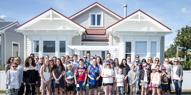 The Block NZ open home inspires young hopefuls